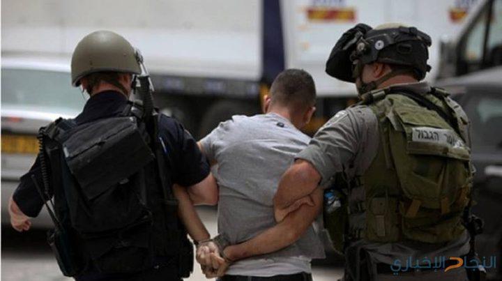اعتقال شاب شرق الخليل