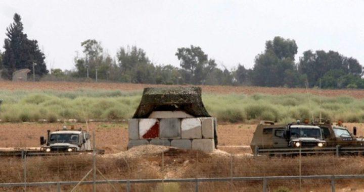 قوات الاحتلال تطلق النار تجاه المزارعين وسط القطاع