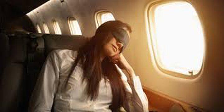 """""""نصائح مهمة"""" لنوم هادئ ومريح على متن الطائرة"""