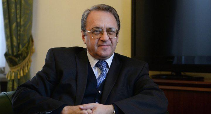 بوغدانوف يبحث مع السفير المصري قضايا الشرق الأوسط