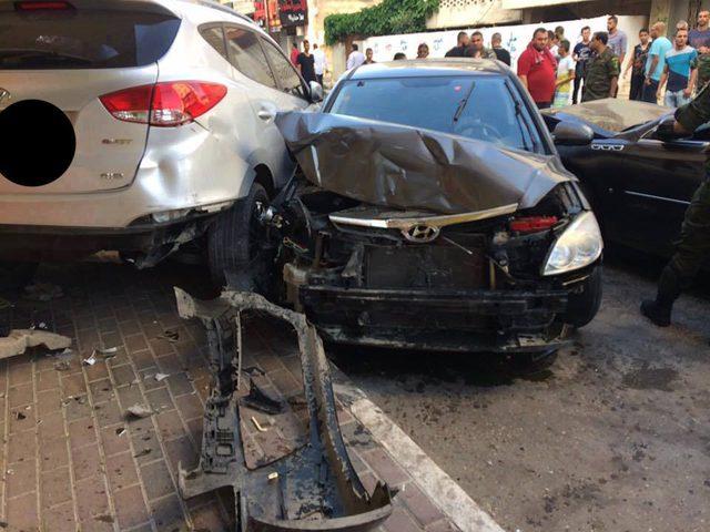 إصابة خمسة عمال في حادث سير جنوب الخليل