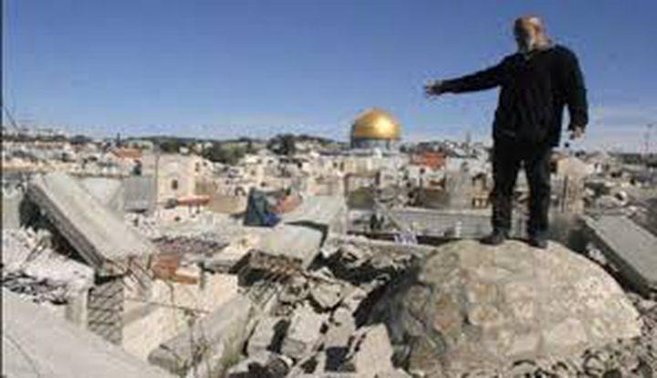 الاحتلال يهدم منزلا في  القدس