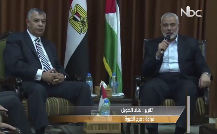 مؤشرات إيجابية لنجاح جهود مصر للمصالحة الفلسطينية