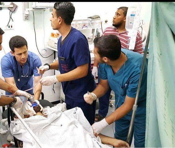 شهيد و 3 اصابات بقصف شرق رفح