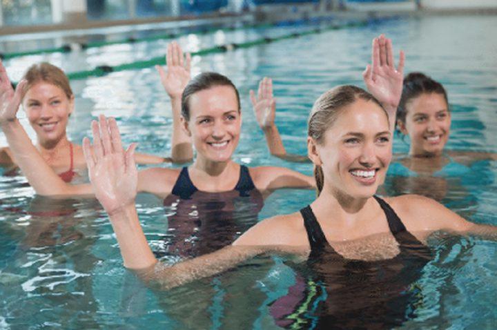 التمارين المائية لجسم ولا أروع في الصيف!