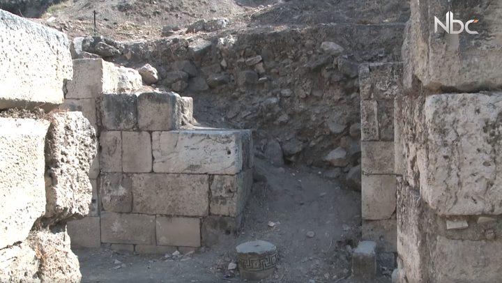 أهم المباني الرومانية في مدينة نابلس