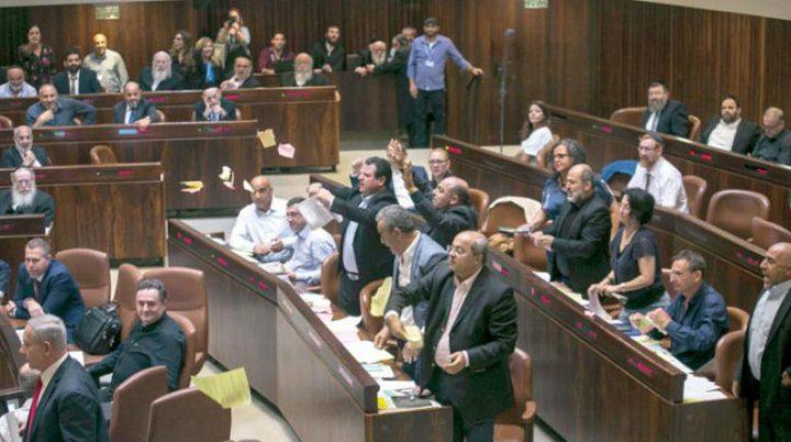 """أعضاء كنيست عرب: قانون """"القومية"""" نكبة جديدة"""