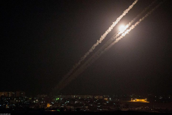 واللا: سقوط صاروخ بالنقب الغربي المحتل