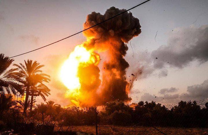 حماس: المقاومة سترُد على قصف مواقعها بغزة