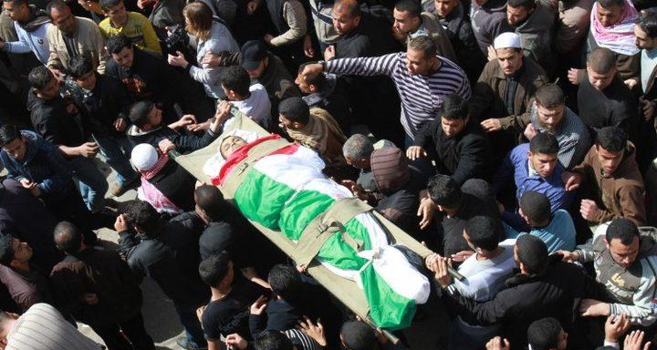 غزة تشيع جثمان الشهيد رضوان
