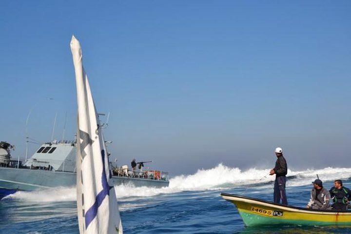 إصابة صياد برصاص بحرية الاحتلال في بحر رفح