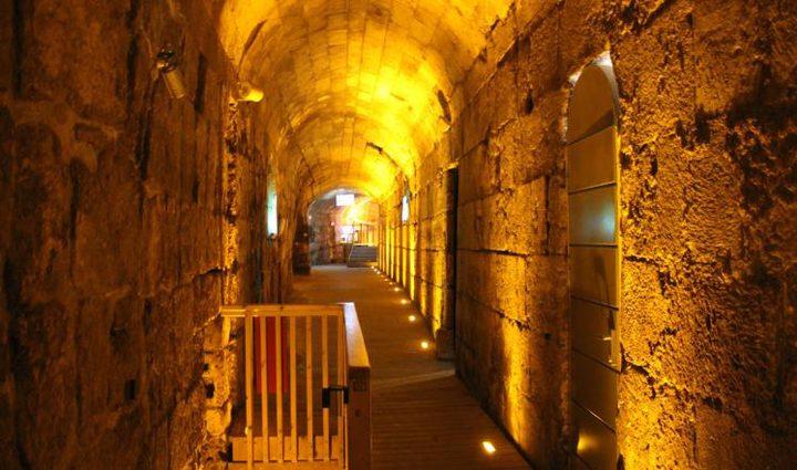 الاحتلال يصادق على إطالة نفق في القدس