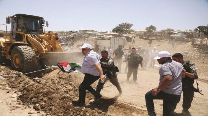محافظ جنين: الخان الأحمر معركة الكل الفلسطيني