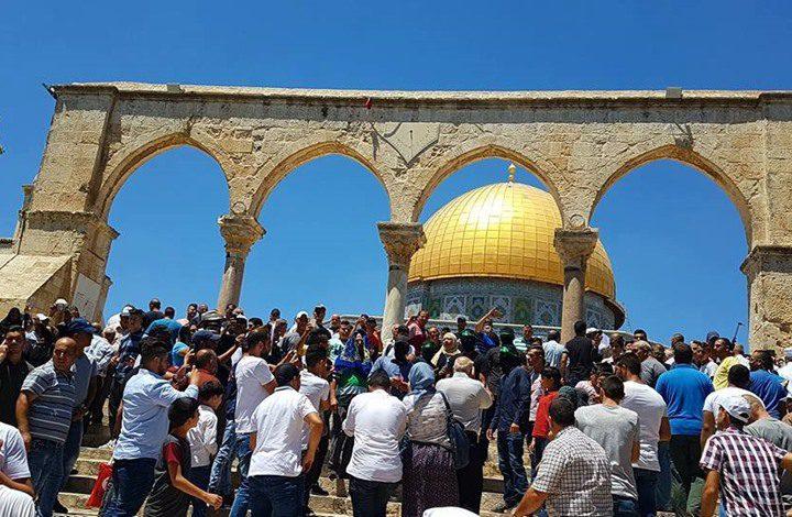 فتح تدعو لشد الرحال للمسجد الأقصى لصد الإحتلال