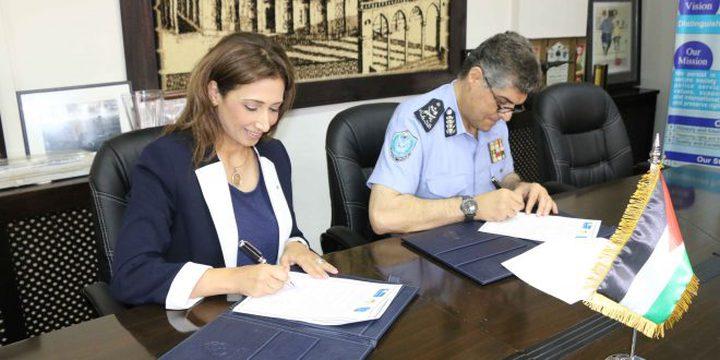 """الشرطة و""""الاحصاء"""" يوقعان مذكرة تعاون وتفاهم مشترك"""