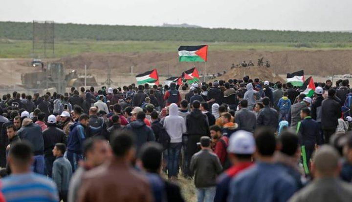 الفصائل تؤكد على استمرار مسيرات العودة في غزة