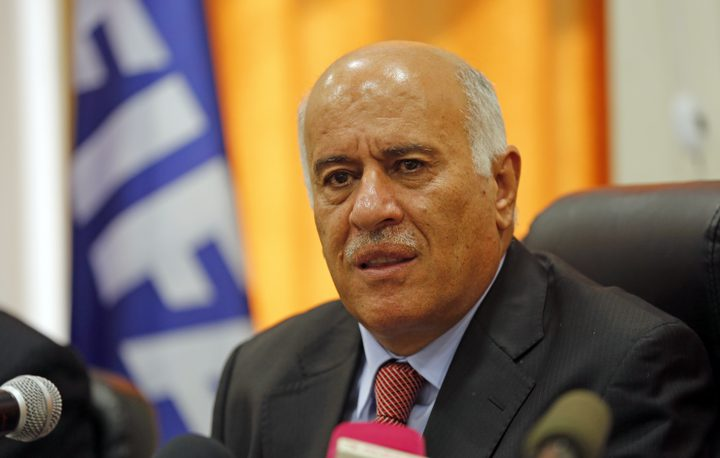 الرجوب يناقش استعدادات الأولمبي الفلسطيني