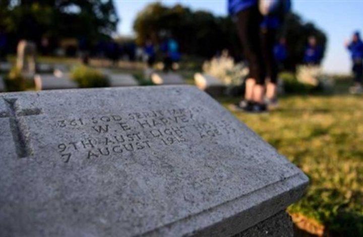 جمجمة جندي تلحق بجسده بعد 100 عام