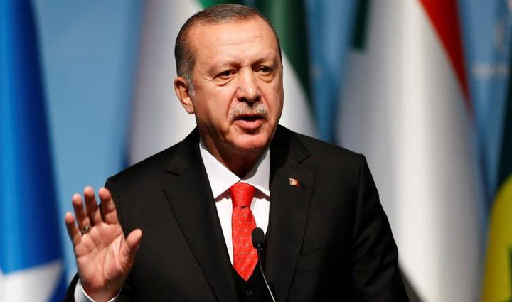 أردوغان: إسرائيل الدولة الأكثر فاشية بالعالم