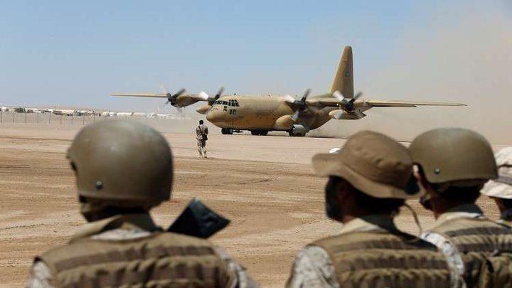 التحالف العربي يجبر طائرة للصليب الاحمر على الهبوط