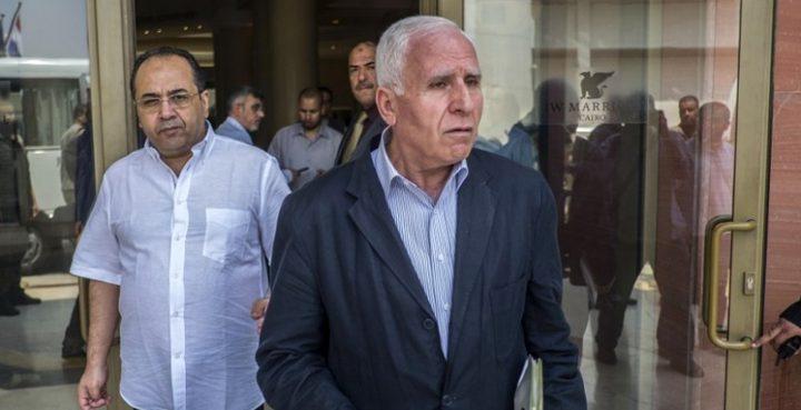 فتح: قدمنا ملاحظات على ورقة التفاهمات المصرية