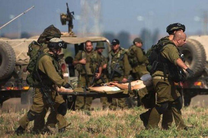 الاحتلال يزعم إصابة جندي على حدود غزة