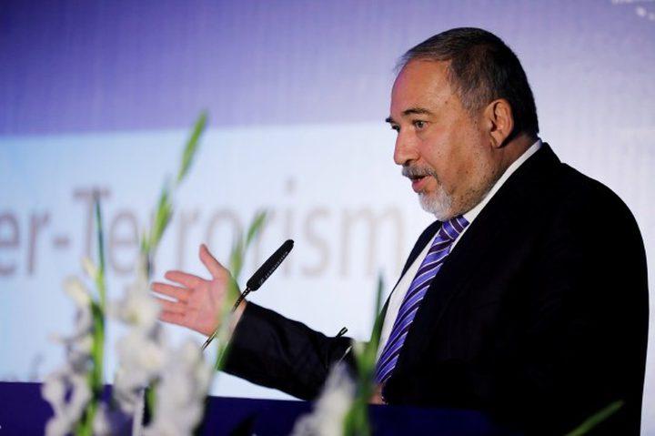 ليبرمان يترأس اجتماعاً أمنياً حول غزة