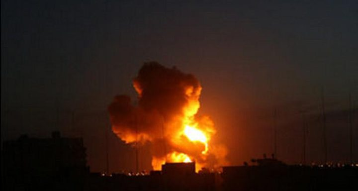 الاحتلال: قصفنا 7 مواقع لحماس بغزة