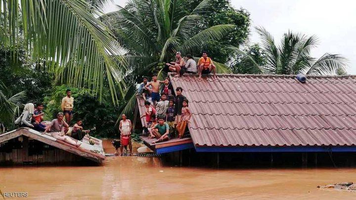 كارثة لاوس تجتاح كمبوديا وتشرد الآلاف