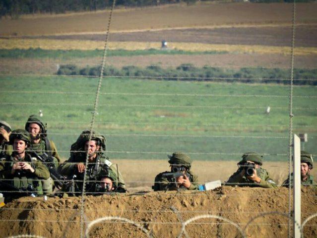الاحتلال يعزز تواجده على حدود غزة