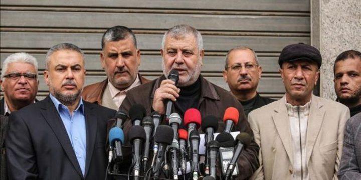 الفصائل: ملتزمون بالتهدئة ما التزم بها الاحتلال