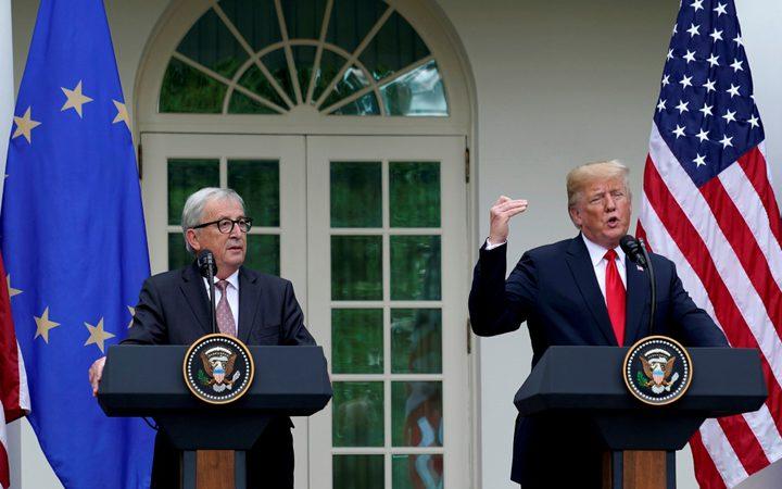 ترامب يعلن نزع فتيل الحرب التجارية