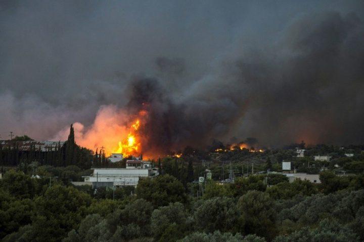 اليونان...ارتفاع حصيلة ضحايا الحرائق