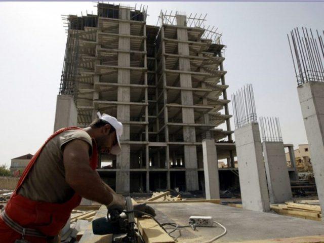 ارتفاع طفيف على مؤشر أسعار تكاليف البناء