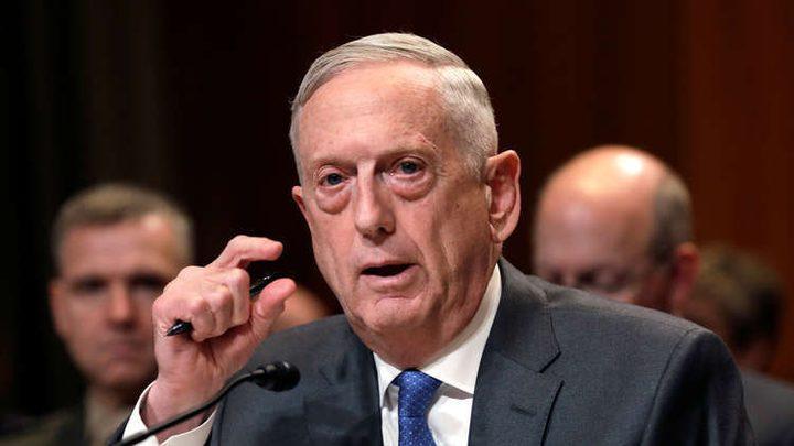 ماتيس: واشنطن لا تسعى لإسقاط النظام في إيران