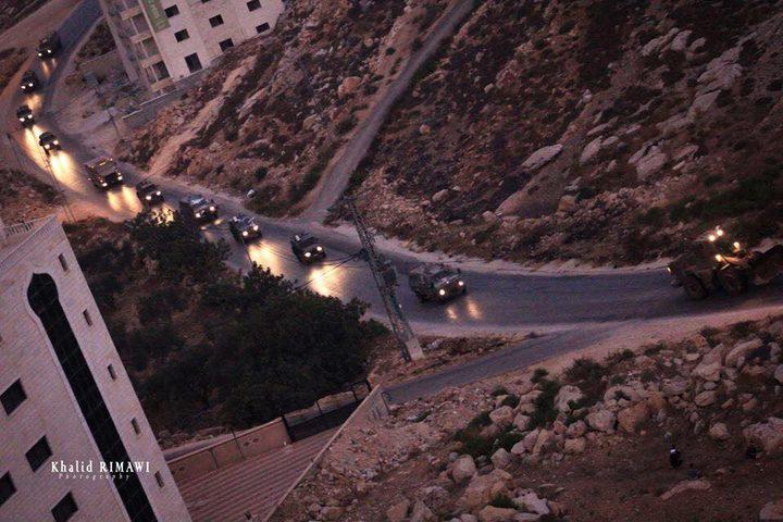 مواجهات في 5 بلدات شمال وشرق رام الله فجر اليوم