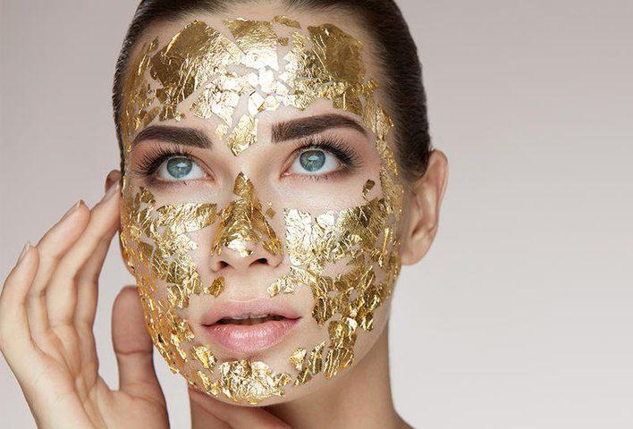 استخدام الذهب للعناية بالبشرة