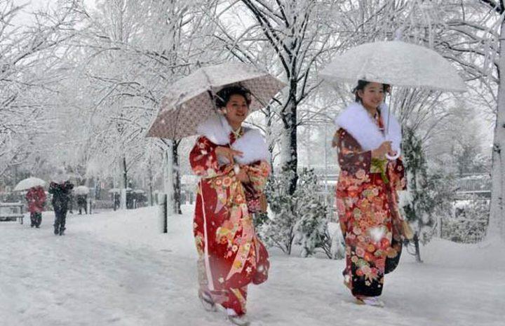 اليابان تستعد لعاصفة قاتلة