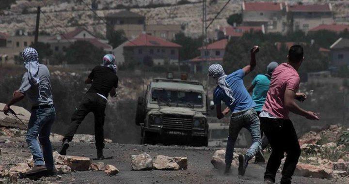 7 إصابات خلال مواجهات مع الاحتلال في كفر قدوم