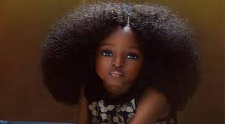 شاهد أجمل طفلة في العالم !