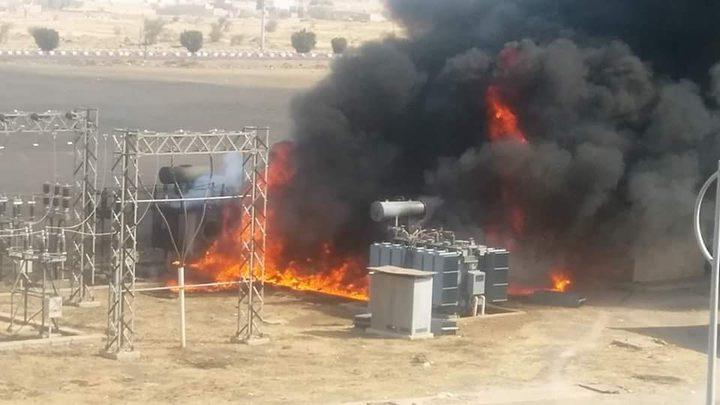 """مسلحون يفجرون محطة كهرباء """"الفتحة"""" في العراق"""