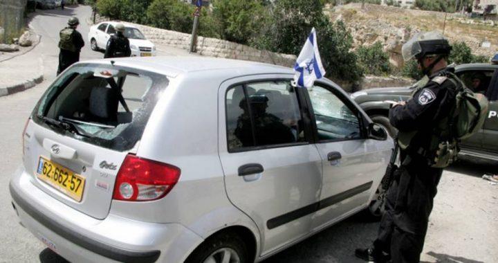 الاحتلال يزعم: اطلاق نار على مركبة مستوطن