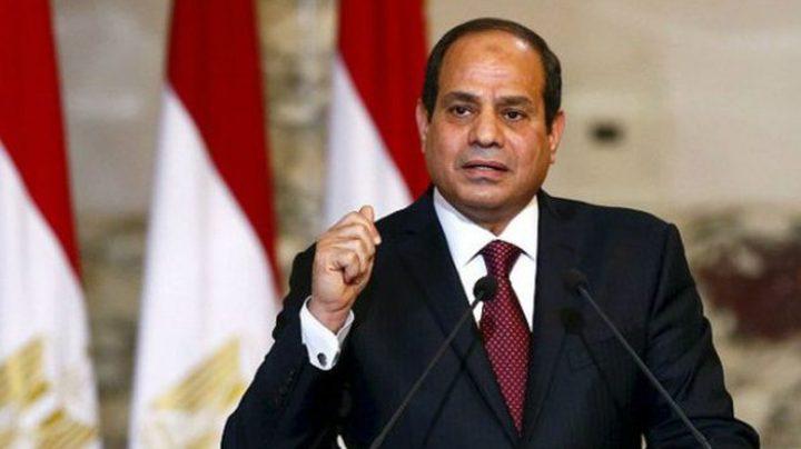 السيسي: مصر تساند أي جهود لاستئناف المفاوضات