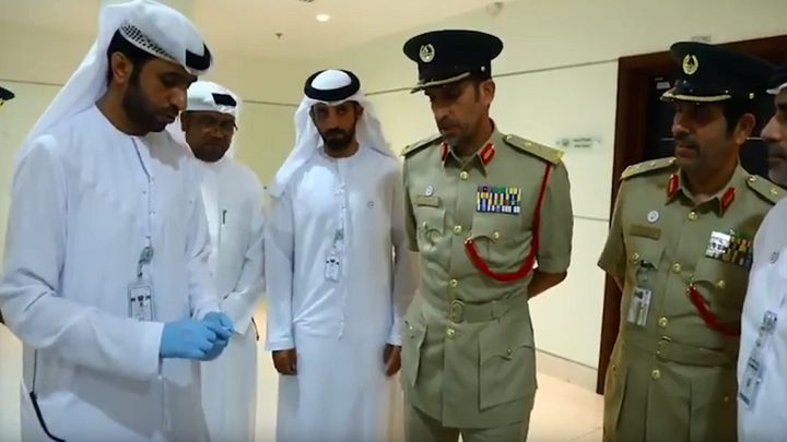دبي تسترد ألماسة قيمتها 20 مليون دولار (صور)