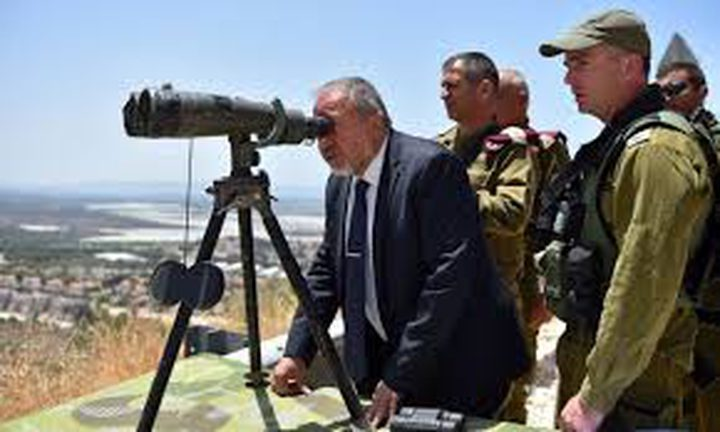 ليبرمان يهدد غزة من جديد