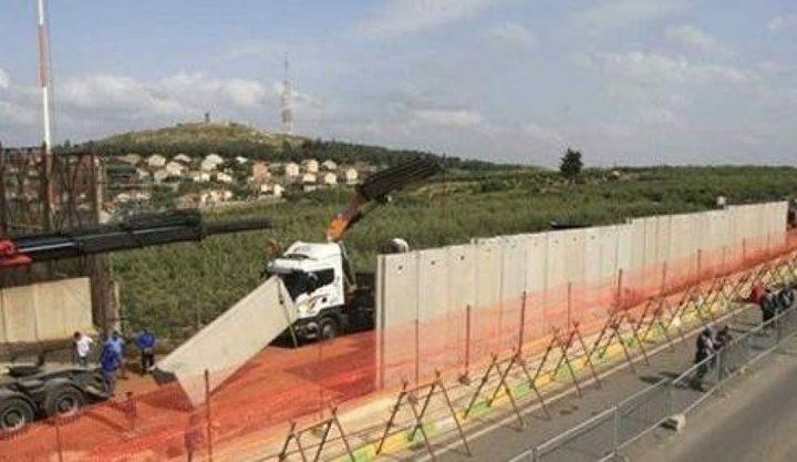 لبنان: جدار الفصل الإسرائيلي تجاوز الخط الأزرق