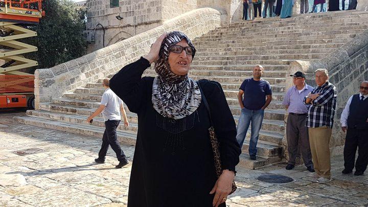 """الاحتلال يبعد سيدتين مقدسيتين عن """"المسجد الأقصى"""""""