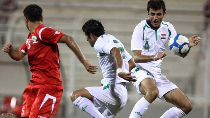 """""""مباراة تاريخية"""" بين العراق وفلسطين في رام الله"""