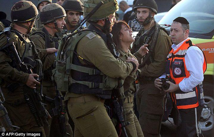 الاعلام العبري: اصابة مجندة في مخيم الدهيشة