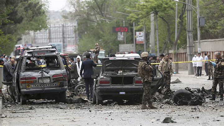 8 قتلى و40 جريحا في انفجار لغم بحافلة في أفغانستان